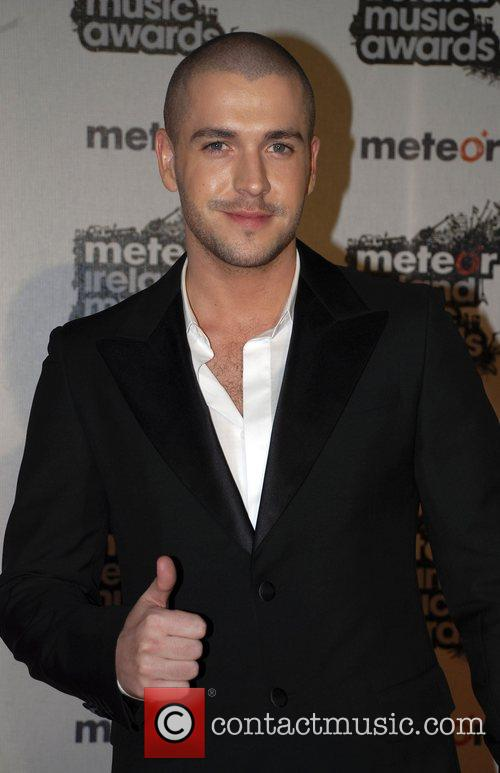 Shayne Ward Meteor Irish Music Awards at the...
