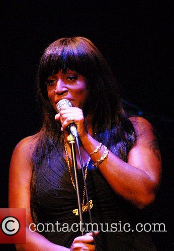 Mica Paris performing at Ronnie Scotts jazz club