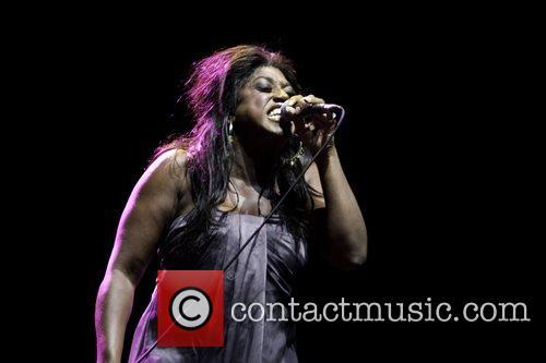 Mica Paris performing live at the Indigo Room...