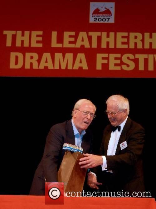 Sir Michael Caine The Leatherhead Drama Festival Awards...