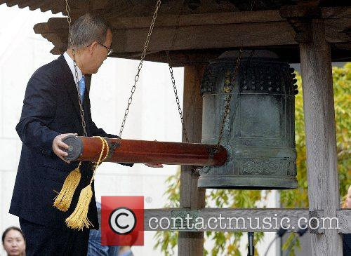The Peace Bell Ceremony on the International Day...