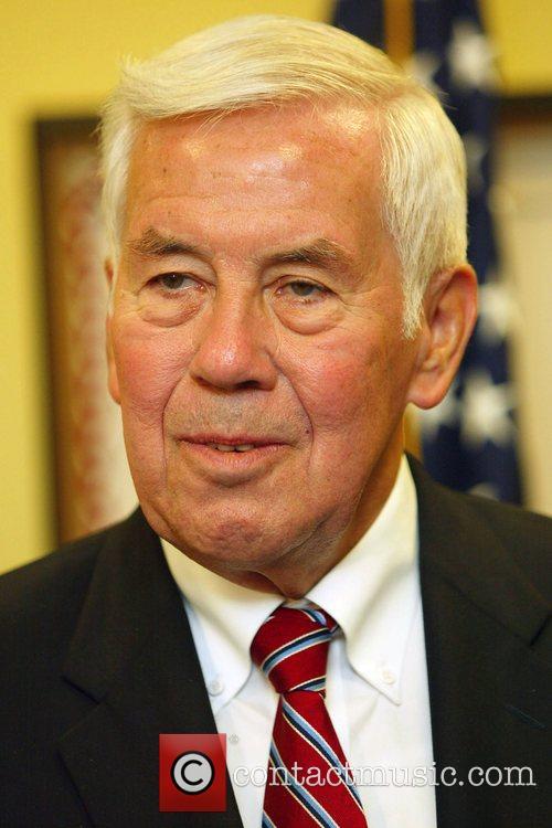 Indiana Senator Richard Lugar at The Capitol