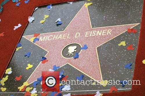 Michael D. Eisner honoured with the 2361st Star...