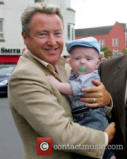 Michael Flatley, His Son and Michael Jr Arrive For The Launch Of The Sligo Live Festival 2007 1
