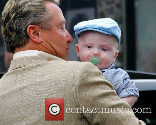 Michael Flatley, His Son and Michael Jr Arrive For The Launch Of The Sligo Live Festival 2007 2