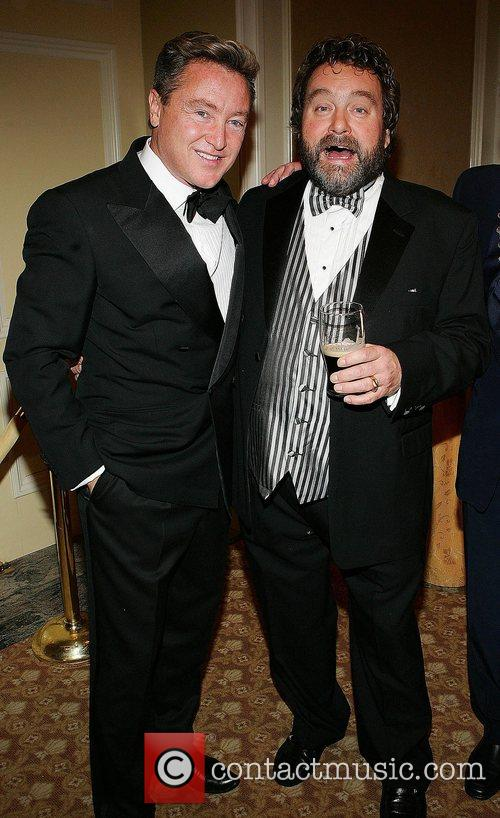 Michael Flatley and Brendan Grace at the Four...