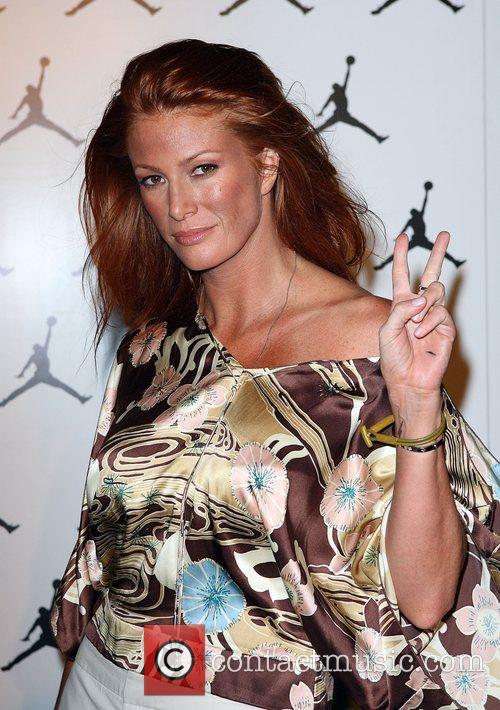 Angie Everhart  at the Michael Jordan Celebrity...