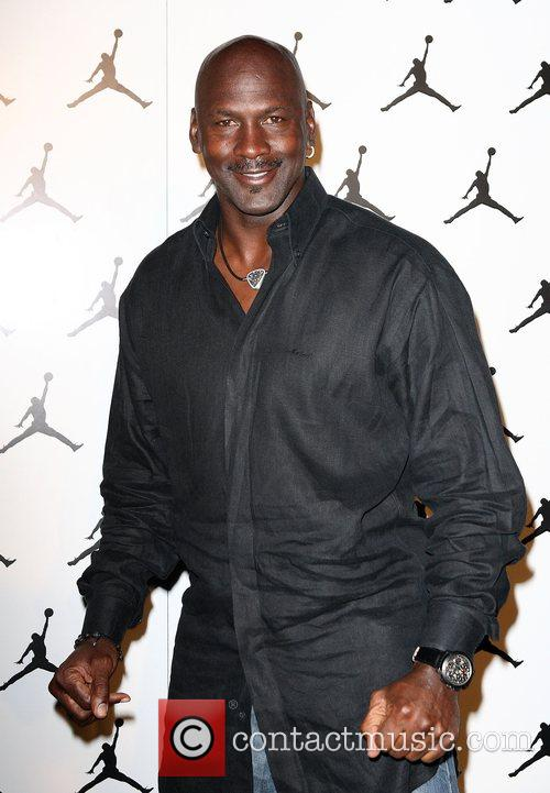 At the Michael Jordan Celebrity Invitational Welcome Reception...