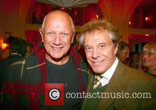 Steven Berkoff and Lionel Blair Michael Winner throws...