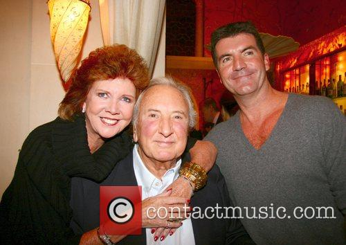 Cilla Black, Michael Winner and Simon Cowell 1
