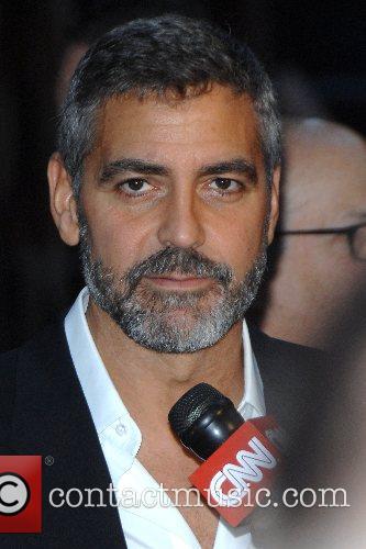 George Clooney  New York Premiere of 'Michael...