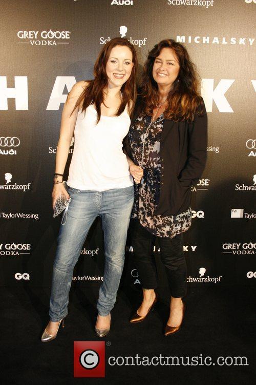 Jasmin Wagner, Gabo Michalsky fashion-party at Grill Royal...