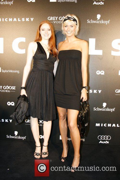 Barbara Meier, Lena Gercke Michalsky fashion-party at Grill...