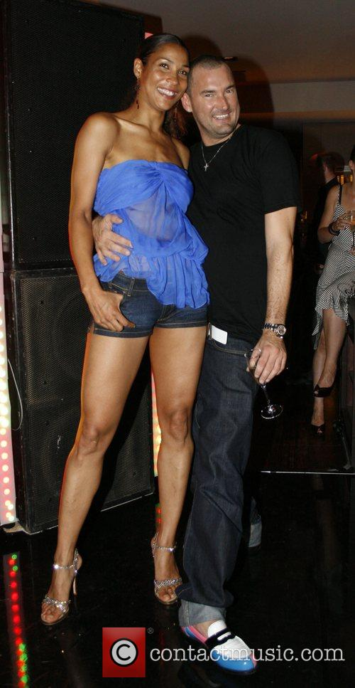 Annabelle Mandeng, Michael Michalsky Michalsky fashion-party at Grill...