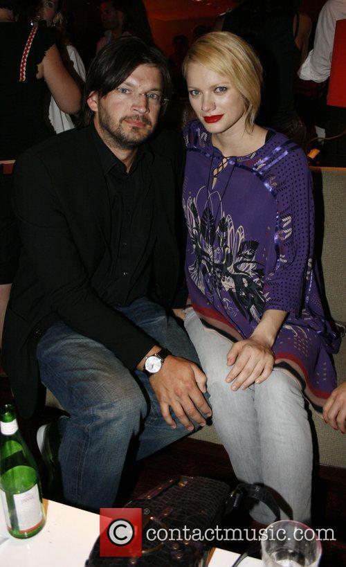 Christian Moestl, Franziska Knuppe Michalsky fashion-party at Grill...