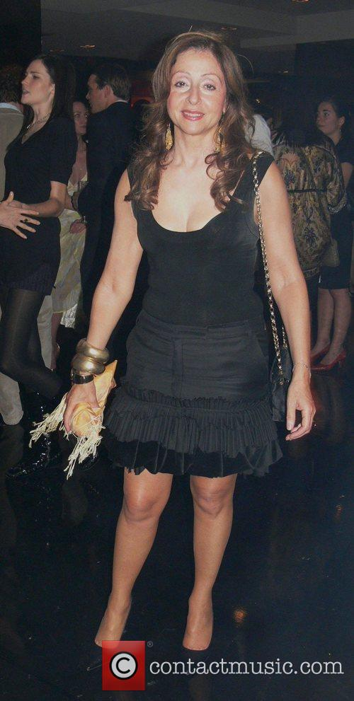 Vicky Leandros Michalsky Fashion Show Party at restaurant...