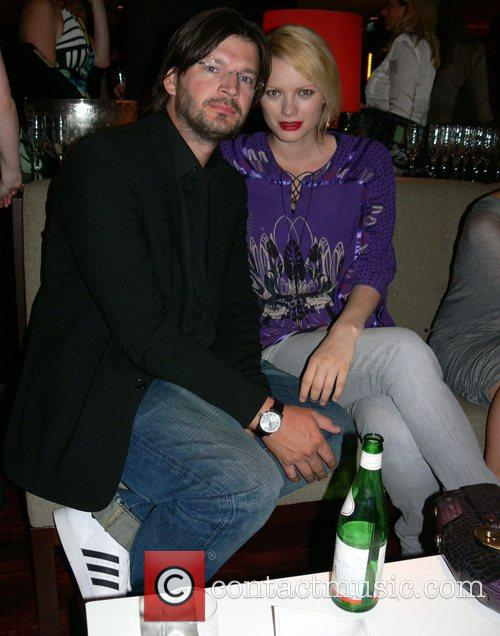 Christian Moestl and Franziska Knuppe Michalsky Fashion Show...