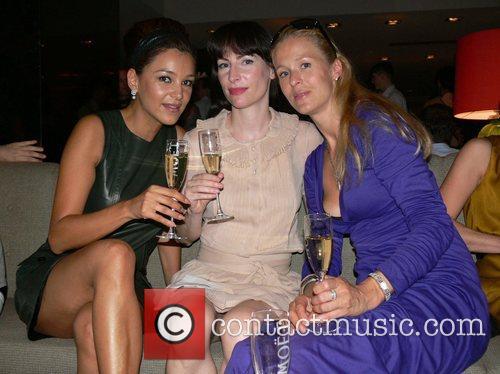 Verona Pooth and friends Michalsky Fashion Show Party...