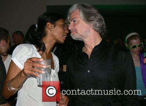 Chantal de Freitas and Hermann Buehlbecker Michalsky Fashion...