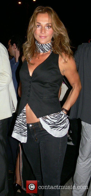 Caroline Beil Michalsky Fashion Show Party at restaurant...