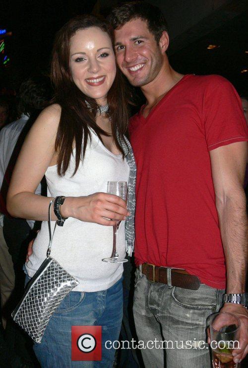 Jasmin Wagner and Jochen Schropp Michalsky Fashion Show...