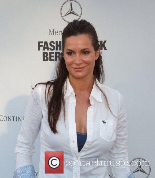 Alexandra Kamp Michalsky Fashion Show during the Berlin...