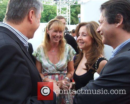 Klaus Wowereit, Maria Koteneva, Vicky Leandros and Georg...