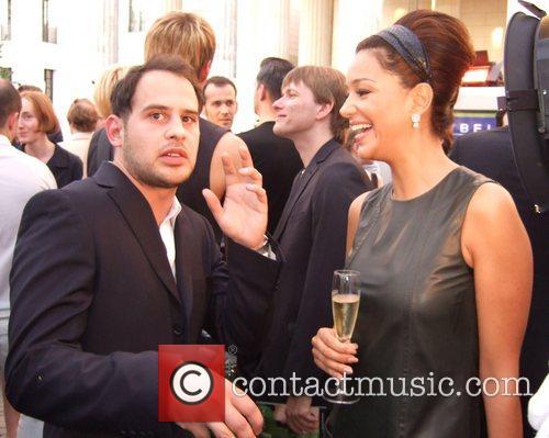 Moritz Bleibtreu and Verona Pooth Michalsky Fashion Show...