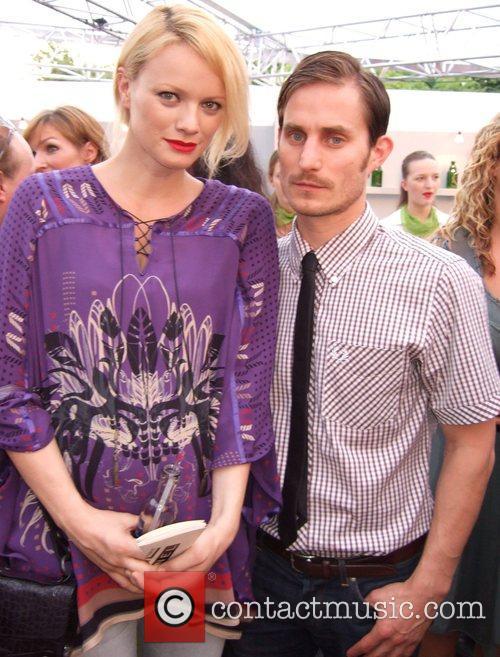 Franziska Knuppe and Clemens Schick Michalsky Fashion Show...