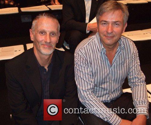 Joern Kubicki and Klaus Wowereit Michalsky Fashion Show...