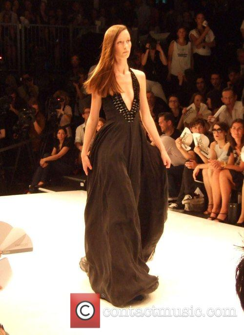 Model Michalsky Fashion Show during the Berlin Fashion...