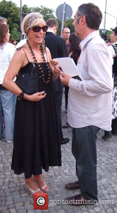 Sabine Christiansen and Norbert Medus Michalsky Fashion Show...
