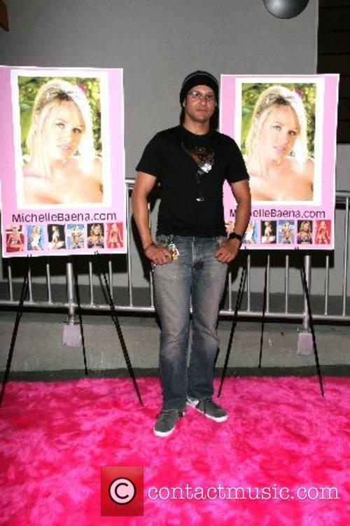 Neil D'Monte Michelle Baena's website launch party at...