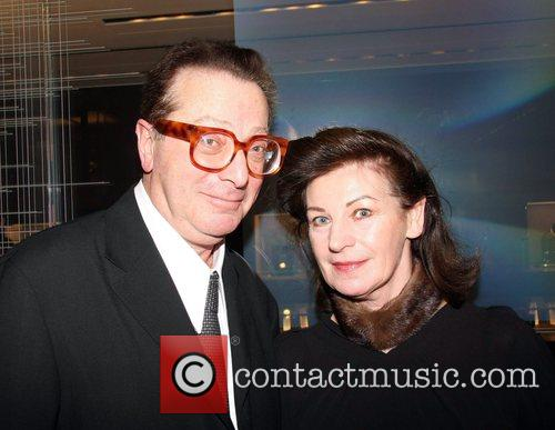 Maurice Saatchi and Guest at the Chickenshed Valentine's...