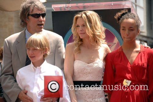 Michelle Pfeiffer, David E Kelley and Family