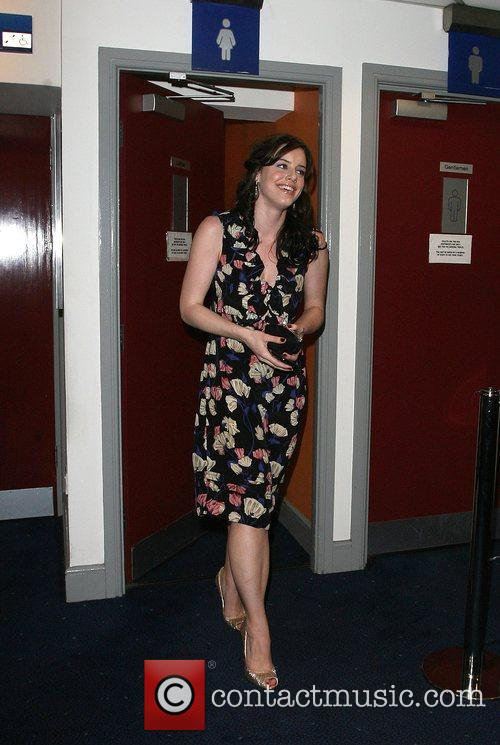 Michelle Ryan leaves the VIP screening of 'Cashback'...
