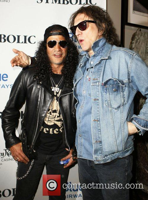 Slash and Mick Rock 3