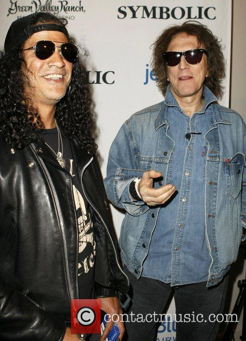 Slash and Mick Rock 4