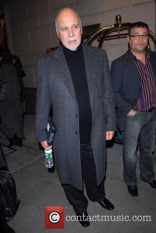 Rene Angelil out and about in Midtown New...