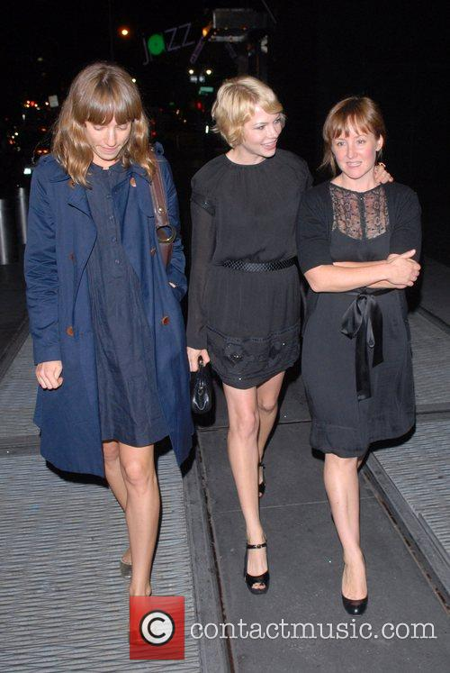 Michelle Williams and guests out and about in...