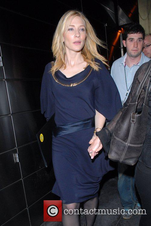 Cate Blanchett  out and about in Midtown...