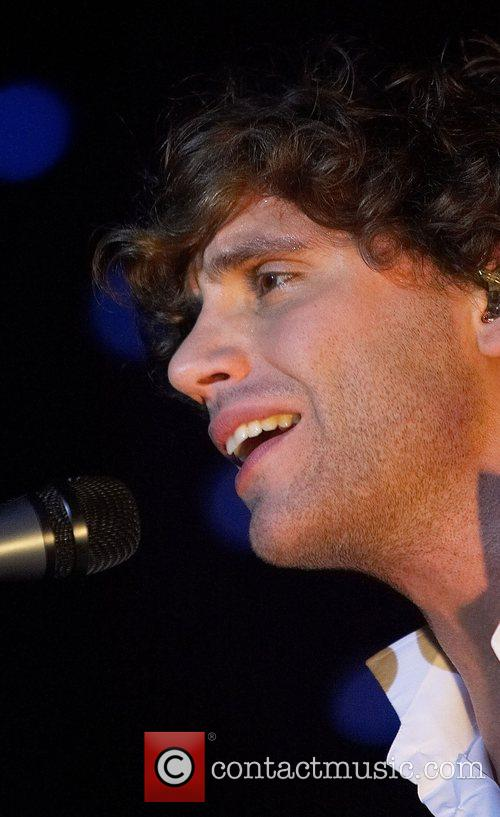 Mika performing live in concert at The Rockhal...