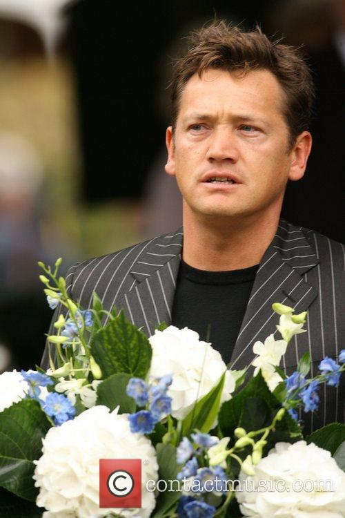 Sid Owen The funeral of comedian Mike Reid...