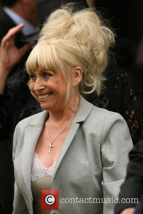 Barbara Windsor The funeral of comedian Mike Reid...