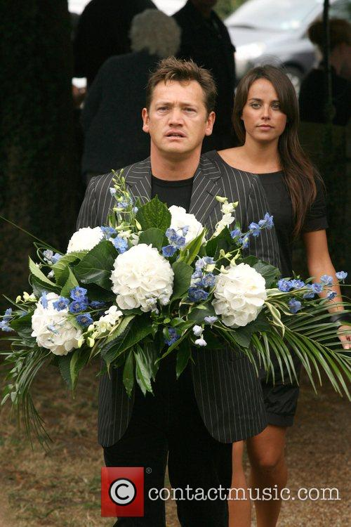 Sid Owen and girlfriend Polly The funeral of...