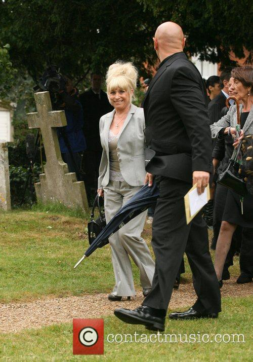 The funeral of comedian Mike Reid