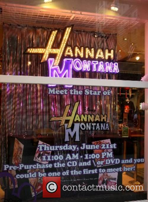 Store Front Disney's teen sensation Miley Cyrus aka...