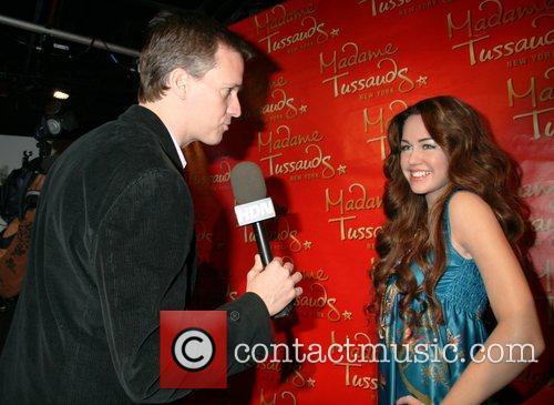 Madame Tussauds New York unveiled Miley Cyrus' wax...