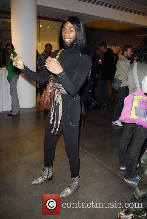 Andre J Russell Young Art Opening Reception at...