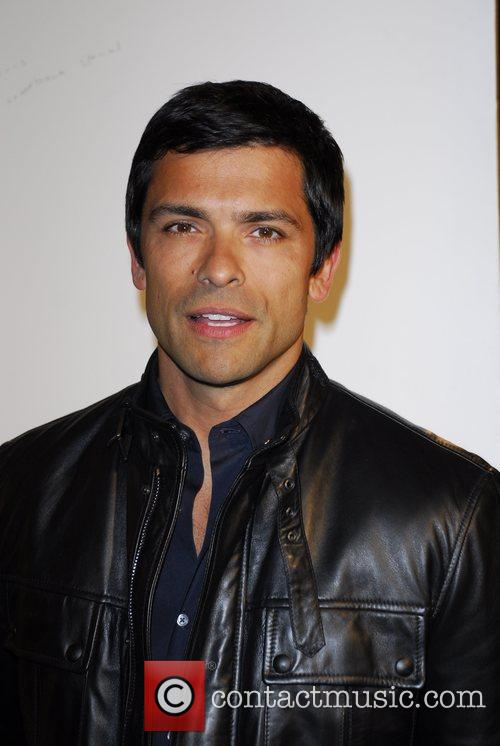 Mark Consuelos Russell Young Art Opening Reception at...